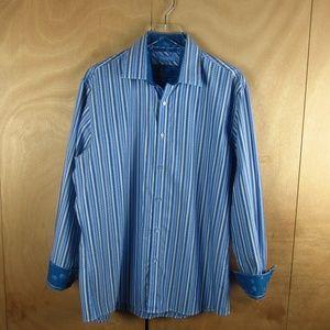 Zagiri Men Designer Shirt /w Pattern Cuff